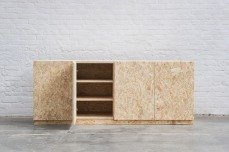 Shoe closet in OSB by Atelier Antipode